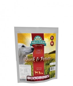 Mills Farm Duck & Potato 2kg